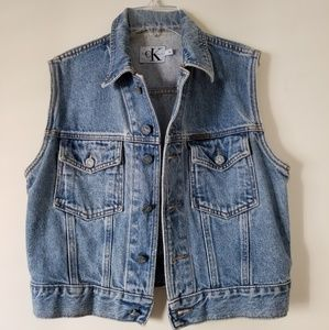 Vintage Calvin Klein Jeans Vest